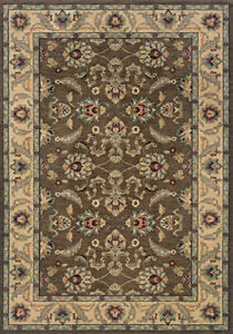 2x8 Sphinx Persian Vines Oriental Brown 2859D Area Rug - Approx 1' 11