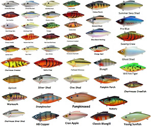 Bill Lewis Lures Rat-L-Trap - Assorted Colors and Sizes