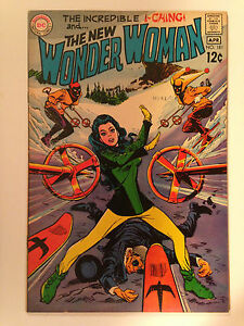 WONDER WOMAN (1969) 181  DIANA PRINCE I-CHING DENNIS O'NEIL MIKE SEKOWSKY DC