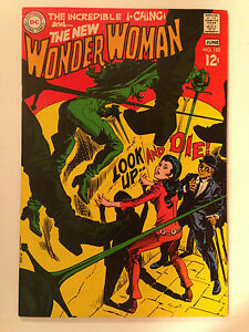 WONDER WOMAN (1969) 182  1ST APPEARANCE OF DRUSILLA DIANA PRINCE I-CHING DC