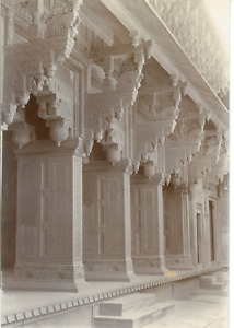 India Indian Architecture. Marble sculptures Vintage citrate print. Tirage EUR 59.00