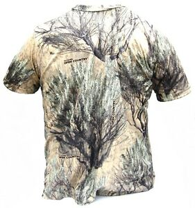 Cabela#x27;s Men#x27;s Quick Dry Moisture Wicking Open Country Scent Hunting Tee Shirts