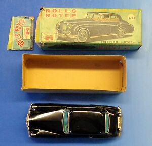 tin friction rolls royce silver cloud saloon