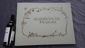 1978 FACSIMILE by Basilisk Press GARDENS OF DELIGHT THE PLATES w Slipcase