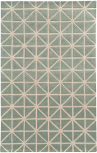 Pantone Universe Grey Prisms Lines Crosses Contemporary Area Rug Geometric 41103