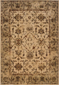 2x8 Sphinx Persian Oriental Ivory 1376E Bordered Area Rug - Approx 1'10
