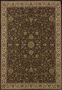 2x10 Runner Sphinx Persian Black Oriental 172D Area Rug -Approx 2' 7'' x 9' 4''