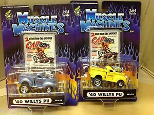1940 willys pickup muscle machines new