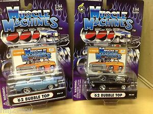 1962 chevy bubbletop muscle machines new