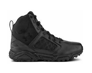 Under Armour Men's TAC Zip 2.0 Boots *1261916* UA Shoes Black Leather All Sizes