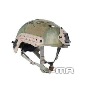 FAST Helmet-PJ TYPE Tactical Helmet A-Tacs FG For Airsoft Paintball