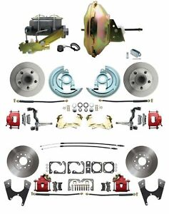 67-72 A-body 4 Wheel Power Disc Brake Kit 11