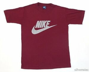 NIKE Vintage T Shirt 80's BLUE LABEL TAG 5050 Sports Athletic