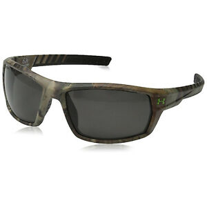 Under Armour Men's Ranger Sunglasses Realtree Frame Gray Polarized ANSI Z87.1