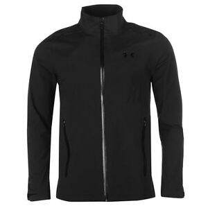 Under Armour Mens Gore Paclite Jacket Outdoor Waterproof Windproof Full Zip Top