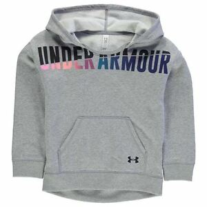 Under Armour Kids Favourite Junior Girl Hoody Full Zip Hoodie Long Sleeve Hooded