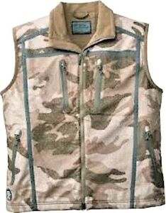 Cabela#x27;s Men#x27;s Alaskan Guide Wind Waterproof Outfitter Camo Silent Hunting Vest