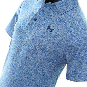 Under Armour Men's Playoff Elevated Heather Golf Polo 1253479 908 M L 2Xl