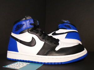 Nike Air Jordan I Retro 1 x FRAGMENT HIGH OG BLACK SPORT ROYAL BLUE WHITE NEW 8