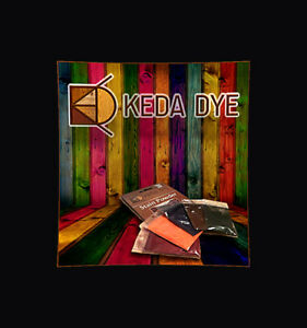 Keda Dye Color Kit 5 Color Wood Dyes Makes 5 Quarts In 5 Wood Stain Colors $17.99