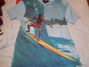 90s M Tag VTG Ralph Lauren Polo Sport Surfing surf 2-sided t-shirt