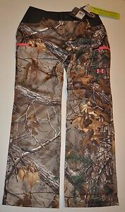 UNDER ARMOUR WOMEN'S SIZE 6 EARLY SEASON SPEED FREEK HUNTING CAMO PANTS NWT