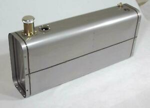 Tanks Inc. Universal Stainless Steel Fuel Tank with 3