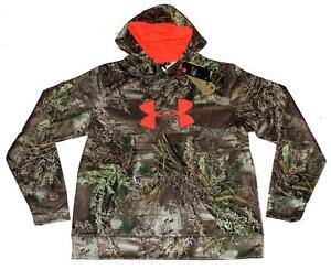 Under Armour REALTREE MAX-1 Storm Camo Water Resistant Hoodie Wms 2XL NWT $74.99