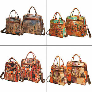 New Designer Digitally Printed Women Fashion Polyester Shoulder Bag Handbag