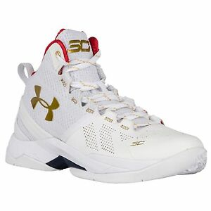 New Boy's  Youth Under Armour UA BGS Curry 2 Basketball Shoes Sz 6Y