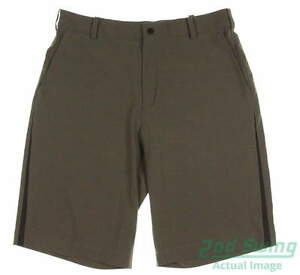 New Mens Nike Golf Summer Fashion Tech Shorts Size 33 Green MSRP $70 509183 320
