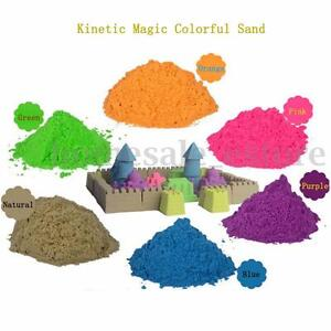 500G Magic Motion Colorful Sand Kid Child Indoor Play Craft Non Toxic