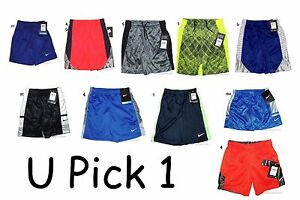 Nike Athletic Shorts Boys Sports Summer Basketball Short Pants Little Kids Play