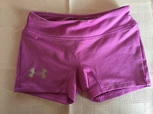 Girls Purple XS Fitted Shorts Under Armour