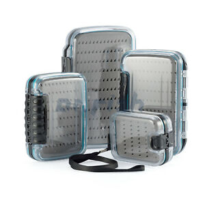 DR.FISH Fly Fishing Box Flies Storage Case Waterproof Double side Clear Large