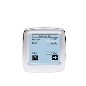 Right Weigh Digital in Dash Scale with Single Input 202 DDG 01 C $335.00