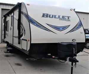 Travel Trailer Bullet Crossfire 2510BH RV Camper New and Used 5th Wheel Sales