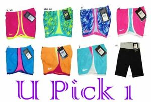 Nike Shorts Girls Little Athletic Sports Active Short Pants Summer Cheer Cute