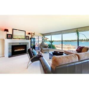 Modern Flames 60 in. Home Fire Custom Built In Electric Fireplace
