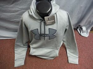 New Men's Under Armour STORM Grey Loose Fit Hoodie Size XL