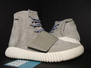 2015 ADIDAS YEEZY 750 BOOST KANYE WEST OG GREY LIGHT BROWN CREAM WHITE B35309 7