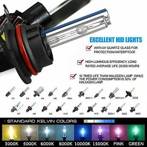 Two 35W 55W Xenon Light HID Kit #x27;s Replacement Bulbs H1 H3 H7 H10 H11 9006 9012 $12.99