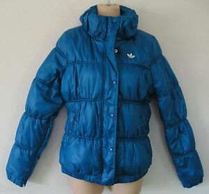 nwt~Adidas Originals PADDED Jacket Sweat Shirt supergirl winter top~Women size S