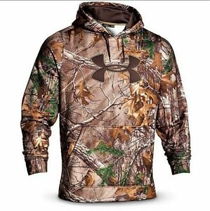 New Mens Under Armour Camo Hoodie Hooded Hooded Small Medium Large XL 2XL 3XL