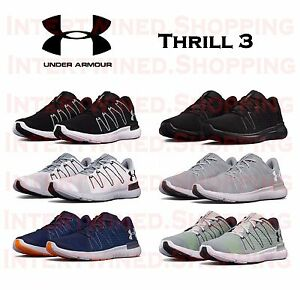 Under Armour Thrill 3 UA 1295736 Men's Running Mesh Micro-G Athletic Shoes 7-16