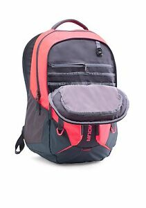 NEW Under Armour UA Storm Contender Backpack Pink ChromaStealth Gray up to 15