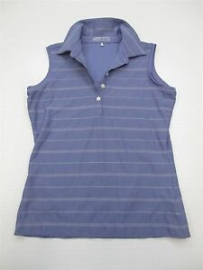 NIKE FIT DRY T4353 Women's Size XS Sleeveless Knit Athletic Golf Polo Tee Shirt