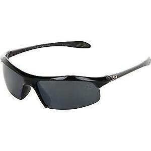 Under Armour Zone Sunglass Shiny Black Frame W Gray Polarized W New