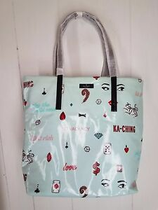 NEW KATE SPADE Daycation Bon Shopper PLAY THE WILD CARD Casino KA-CHING Tote Bag