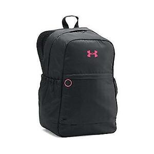 Under Armour Girls' Favorite Backpack BlackHarmony Red One Size New